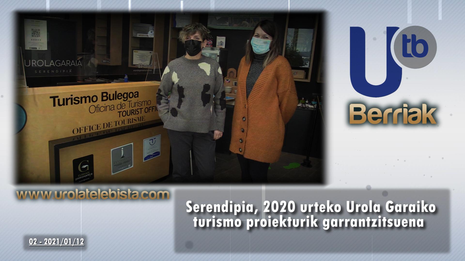 Serendipia, 2020 urteko Urola Garaiko turismo proiekturik garrantzitsuena / Serendipia, el proyecto de Turismo de Urola Garaia más importante de 2020