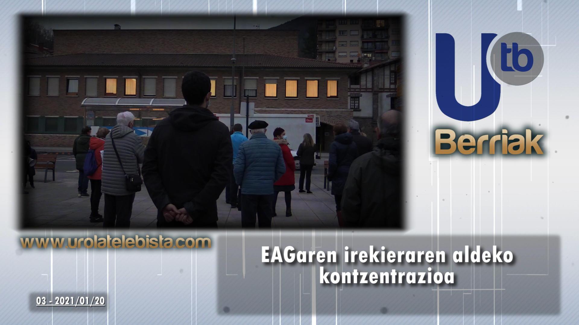 EAGaren irekieraren aldeko kontzentrazioa / Concentración para la reapertura del PAC