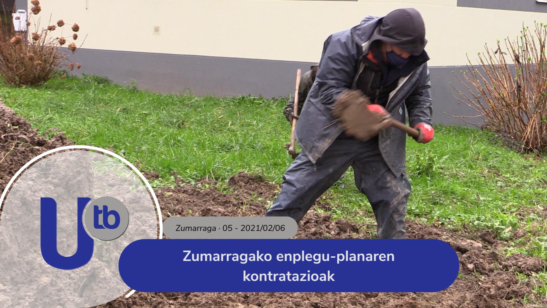 Zumarragako enplegu-planaren kontratazioak / Contrataciones del Plan de empleo de Zumarraga