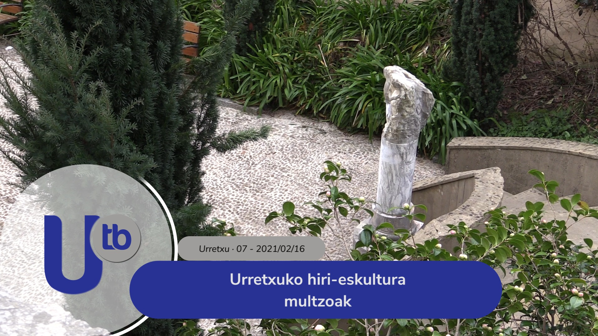 Urretxuko hiri-eskultura multzoak / Conjuntos escultóricos de Urretxu