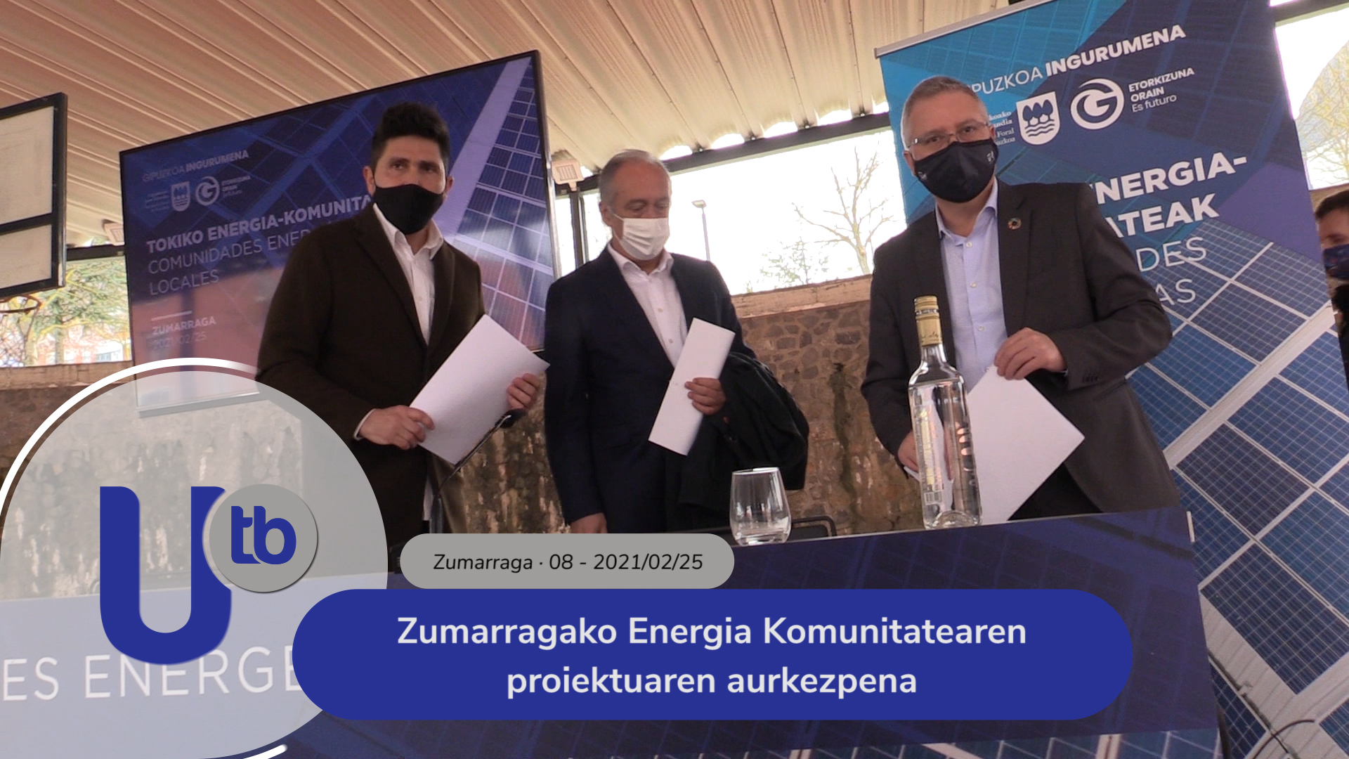 Zumarragako Energia Komunitatearen proiektuaren aurkezpena / Presentación del proyecto de Comunidad Energética de Zumarraga