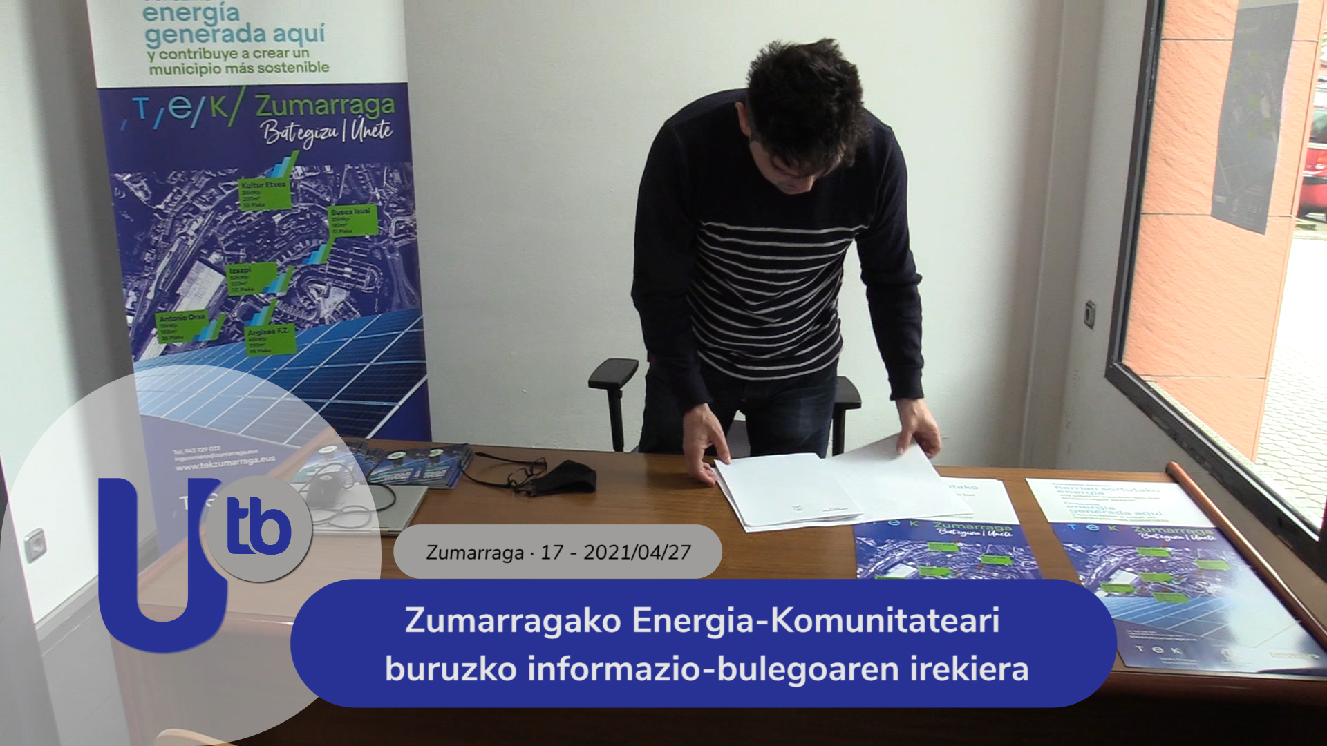 Zumarragako Energia-Komunitateari buruzko informazio-bulegoaren irekiera / Apertura de la oficina de información sobre la Comunidad Energética de Zumarraga